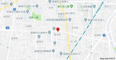【地図】サニーパーク春日 (株)Roots