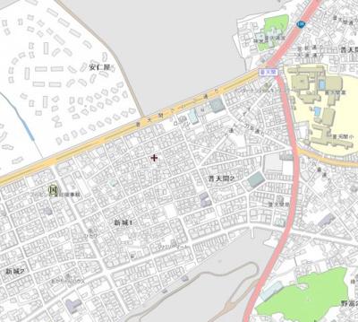 【地図】KSパーキング