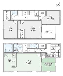 リーブルガーデン防府市田島第5(3号棟)