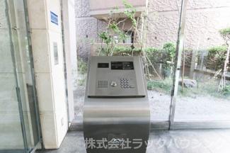 【防犯設備】セントポリア北大阪ヴィゾン壱番館