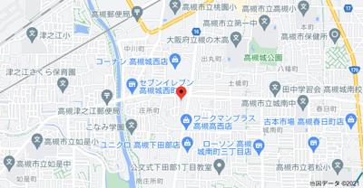 【地図】タガミハイツ
