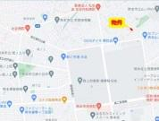 ■カーナビ:熊本県熊本市東区山ノ内3丁目8-36付近