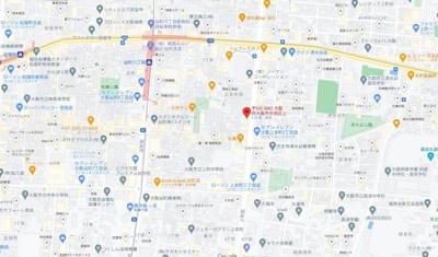 【地図】to U Uehommachi