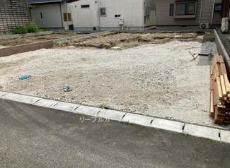 【前面道路含む現地写真】新築 新潟市東区中山第2  2号