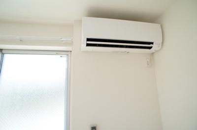 「エアコン完備です」
