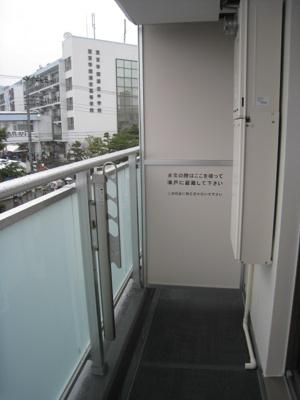 【バルコニー】マリーナデルレイⅢ