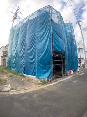 【外観】葛飾区東金町3丁目新築戸建て【全2棟】