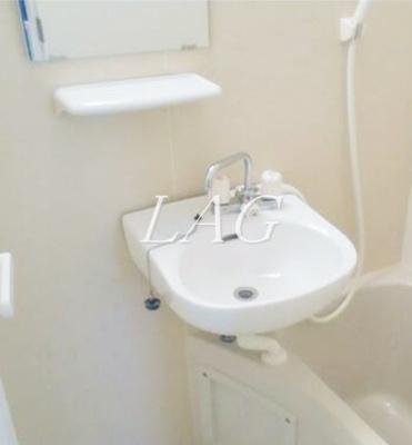 洗面スペースになります。