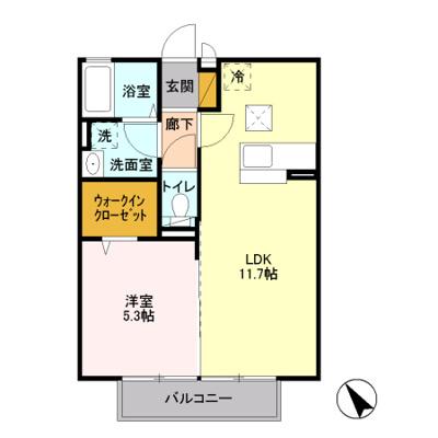 【区画図】エトワール A
