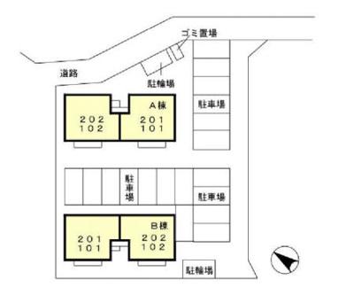 【区画図】ルピナス A・B