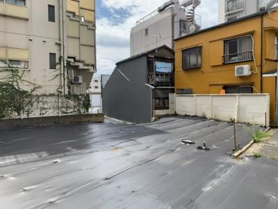 自己居住用・賃貸併用住宅・マンション等、多目的に検討可(2021.9.28撮影)。
