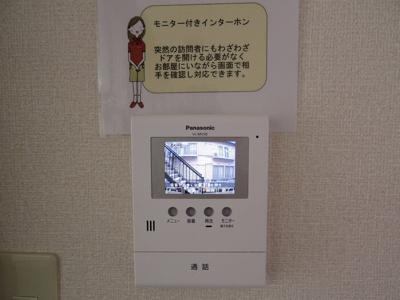 録画機能付きTVインターホン