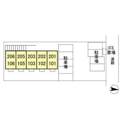 【区画図】フローラ春日