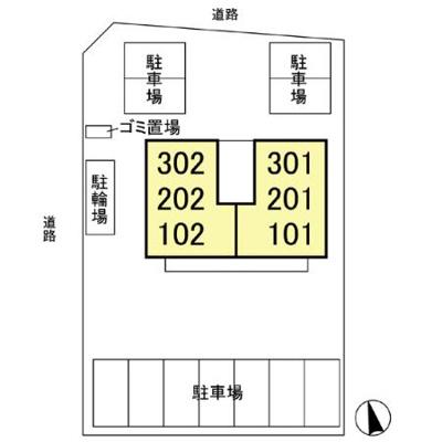 【区画図】カハラコート