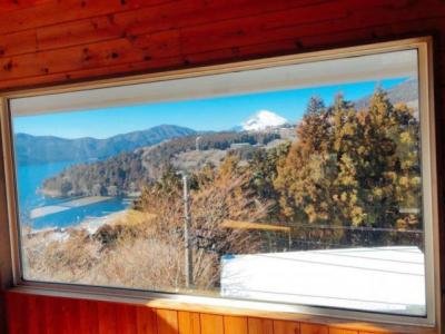 室内より富士山眺望をお楽しみ頂けます。