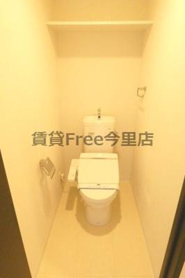 【トイレ】ブルーエグリ上町台 仲介手数料無料