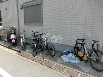 駐輪スペース・プライムコート