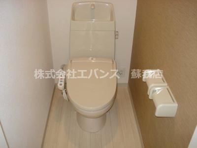 【トイレ】ハッピートゥモロー
