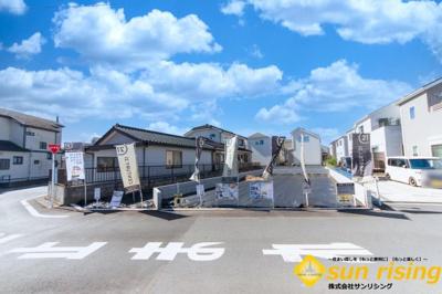 【外観パース】武蔵村山市中原3丁目 建築条件付売地 全3区画 2号区