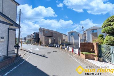 【周辺】武蔵村山市中原3丁目 建築条件付売地 全3区画 2号区