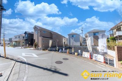 【外観】武蔵村山市中原3丁目 建築条件付売地 全3区画 3号区