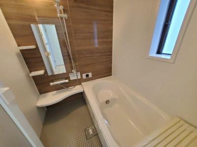【浴室】大野町二丁目 2棟新築分譲(残り1棟)
