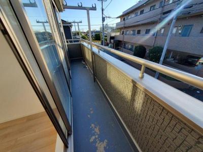 【バルコニー】大野町二丁目 2棟新築分譲(残り1棟)