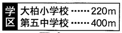 【周辺】大野町二丁目 2棟新築分譲(残り1棟)