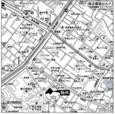 【地図】港区南青山 1階 区分事務所