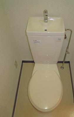 個室タイプのトイレです