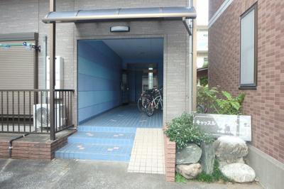【エントランス】キャッスルアメジストⅢ