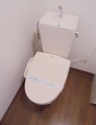 【トイレ】キャッスルアメジストⅢ