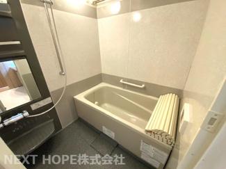 浴室です♪一日の疲れを癒してくれます!浴室乾燥機付きで雨の日のお洗濯物も心配なしです(^^)