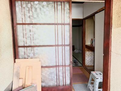 【玄関】住吉区苅田9丁目 中古テラスハウス