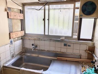 【キッチン】住吉区苅田9丁目 中古テラスハウス