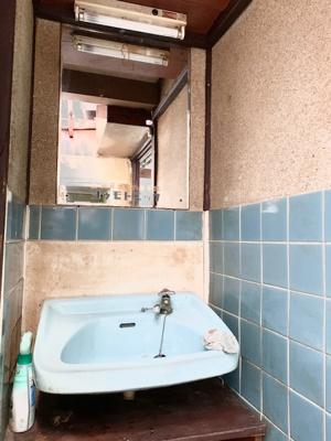 【洗面所】住吉区苅田9丁目 中古テラスハウス