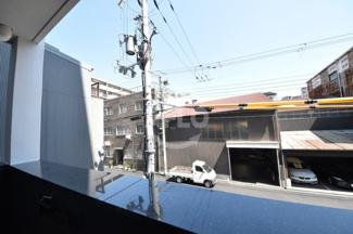 グランカリテ九条南(SOHO) 2階からの景色