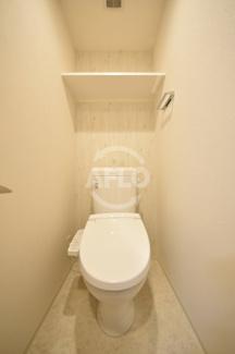 グランカリテ九条南(SOHO) トイレ