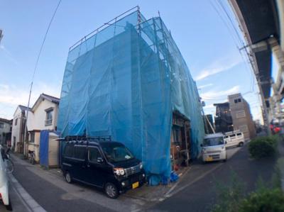 【外観】葛飾区堀切4丁目新築戸建て【全2棟】