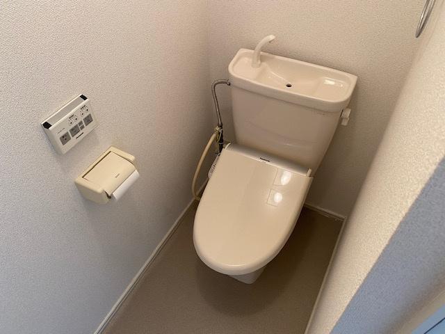 【トイレ】ヴィレッジオークスⅡ