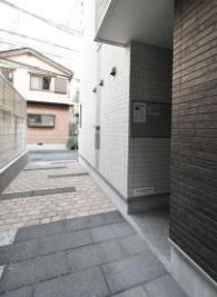 【エントランス】ハーモニーテラス四谷坂町