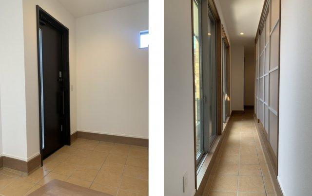 【玄関】桑名市藤が丘1丁目 新築建売住宅
