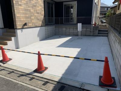 【駐車場】桑名市藤が丘1丁目 新築建売住宅