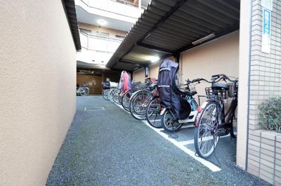 【駐輪場】朝日パリオ戸田公園
