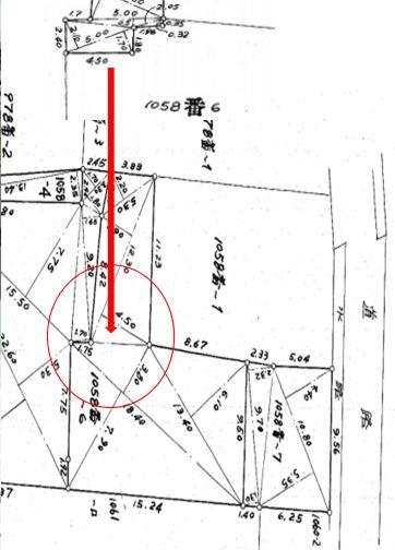 【土地図】小机町 売地