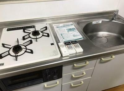 【キッチン】コーポ玉川