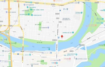 【地図】セラフ天満橋