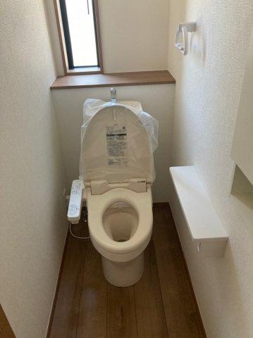【トイレ】クレイドルガーデン早良区野芥第16 平屋建4LDK オール電化住宅