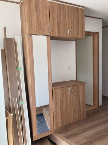 【収納】クレイドルガーデン早良区野芥第16 平屋建4LDK オール電化住宅