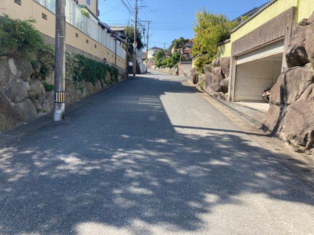 【前面道路含む現地写真】クレイドルガーデン早良区野芥第16 平屋建4LDK オール電化住宅